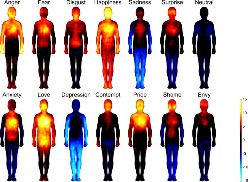 Emotions in the body