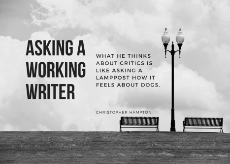 As a Working Writer
